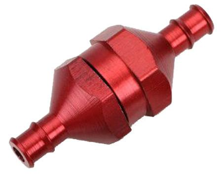 In-Line Fuel Filter-Red