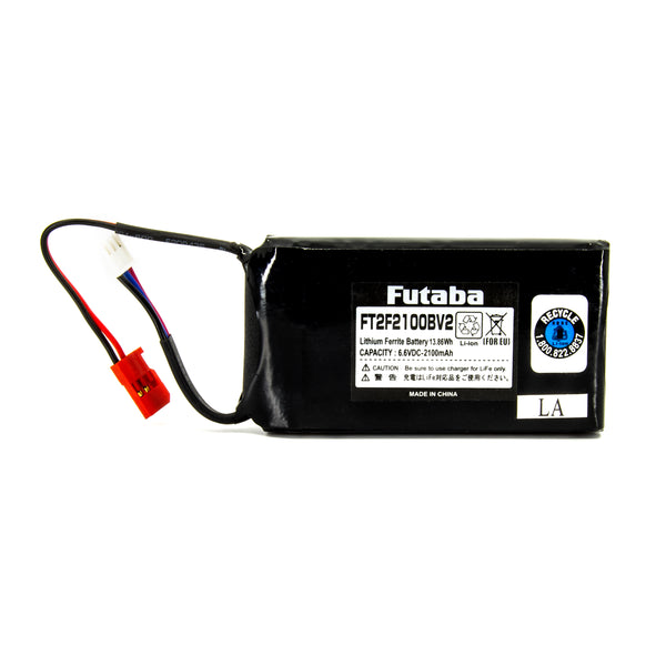 2100mAh LiFe Transmitter Battery 6.6V (2-Cell)
