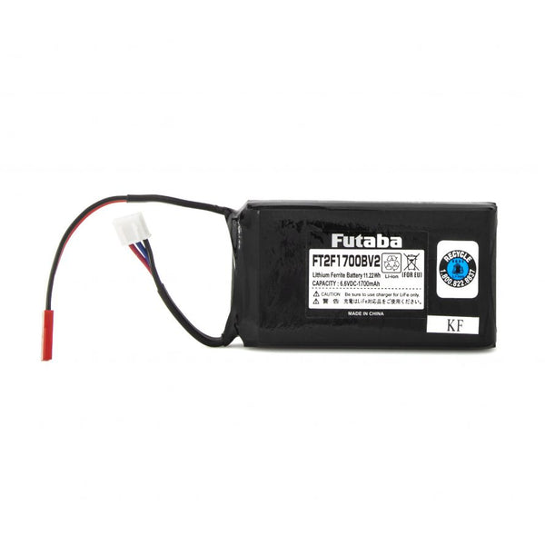 1700mAh LiFe Transmitter Battery 6.6V (2-Cell)