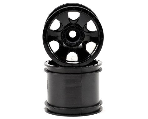 Warlock Wheel Black (2.2In/2pcs)