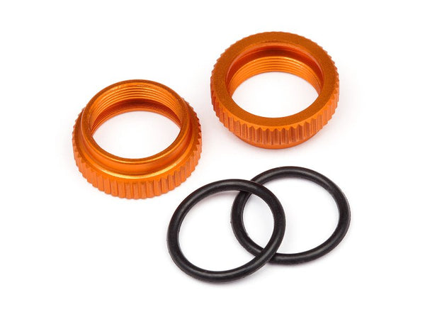 Aluminum Shock Adjuster (Orange/2pcs) Savage XS