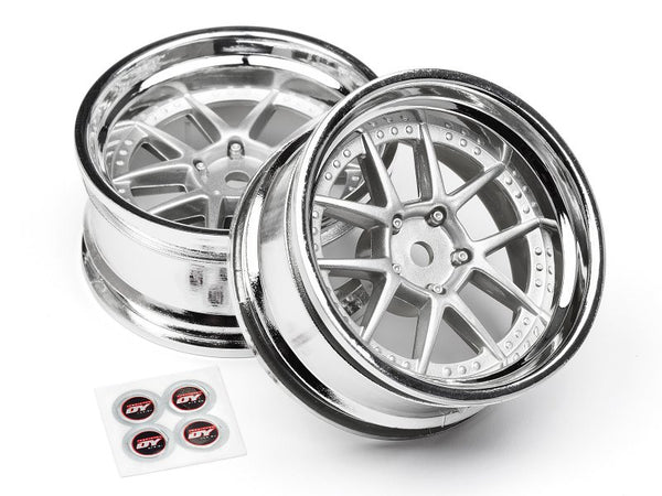 Dy-Champion 26mm Wheel (Chrome/Silver/6mm