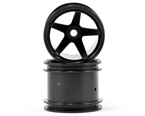 Super Star MT Wheels (Black/Deep Offset/2pcs)