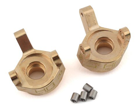 Brass Front Steering Knuckle, Axial SCX24