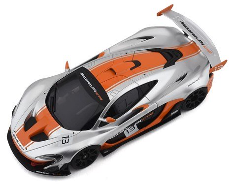 MINI-Z McLaren P1 GTR Silver/Orange MR-03 RWD RTR