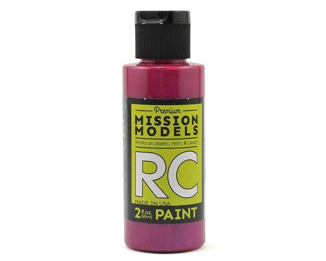 RC Paint 2 oz bottle Iridescent Candy Red