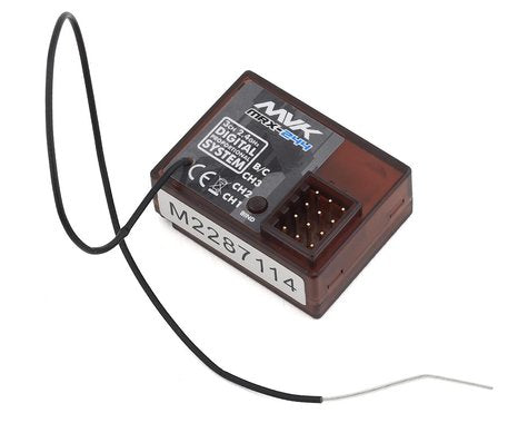 MRX-244 MAVERICK 2.4GHZ 3CH RECEIVER WITH BUILT IN FAILSAF