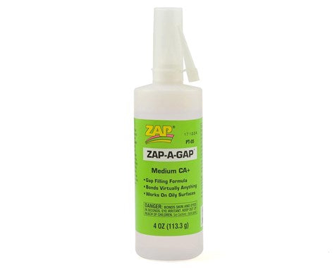 Zap-A-Gap CA+ Glue 4oz