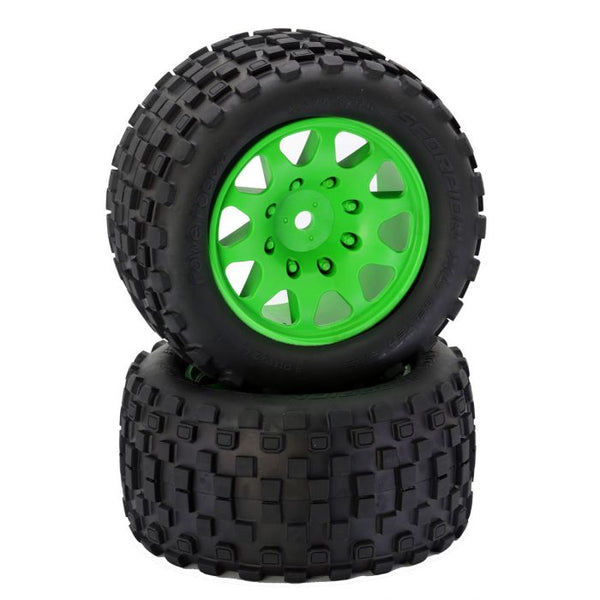 Powerhobby SCORPION XL Belted Tires / Viper Wheels (2)