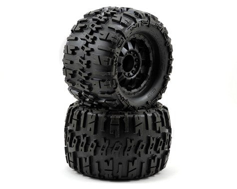 "Trencher X 3.8"" All Terrain Tires Mtd on Blk F-11 3.8"""