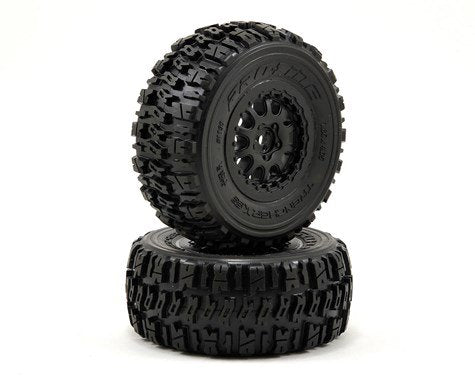 "Trencher X SC 2.2""/3.0"" M2 (Medium) Tires Mounted"