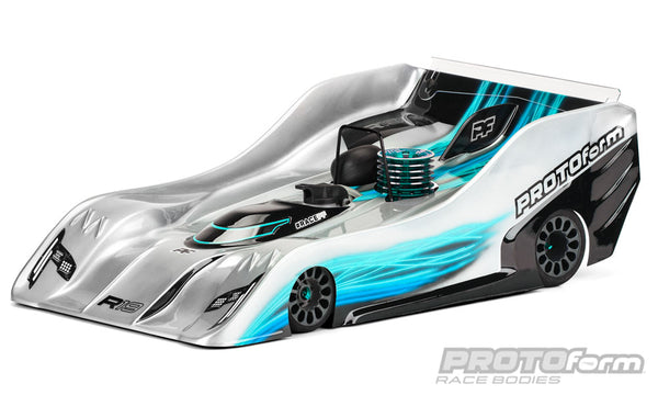 PROTOform R19 PRO-Light Weight Clear Body for 1/8 Nitro On