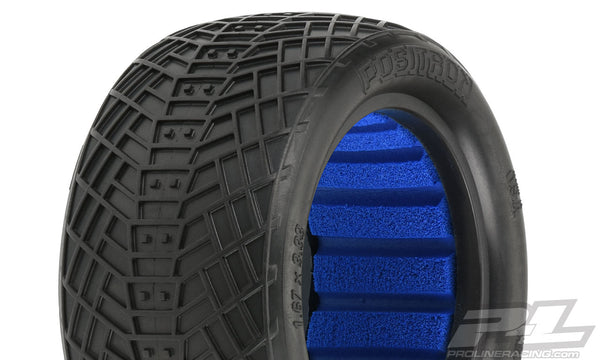 "Positron 2.2"" S4 (Super Soft) Off Road Buggy Rear Tires"