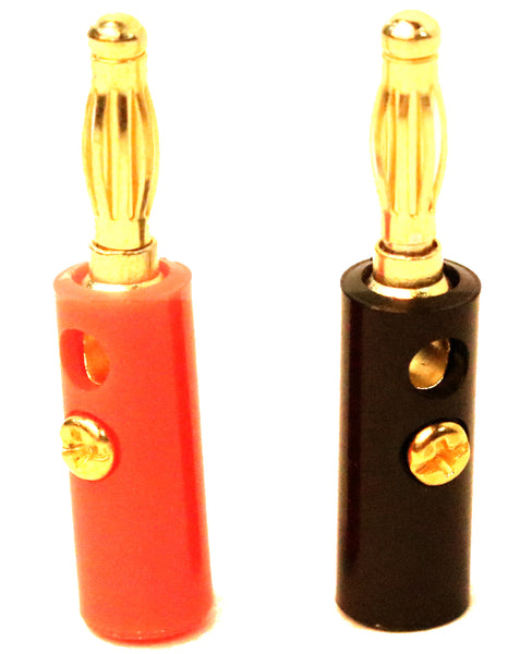 HD Banana Plugs (2 pr)