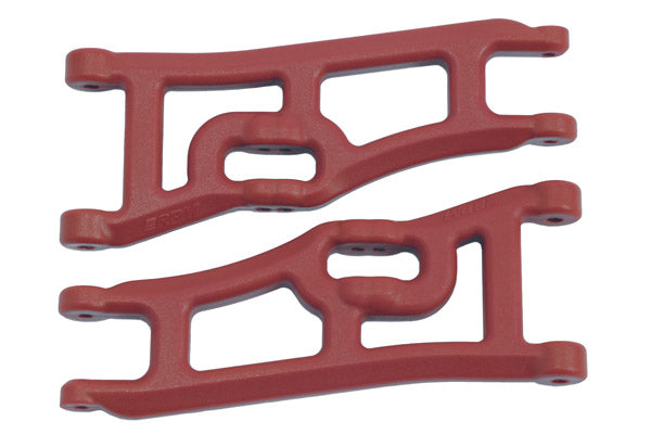 TRAXXAS E-RUSTLER & STAMPEDE 2WD WIDE FRONT A-ARMS-RED