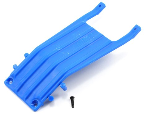 SLASH FRONT SKID PLATE BLUE