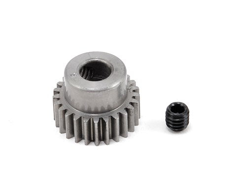 HARD 48 PITCH MACHINED 25T PINION 5MM BORE