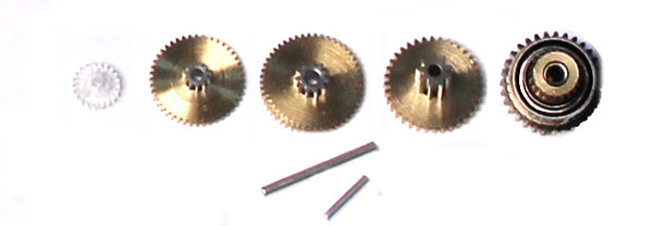 SERVO GEAR SET WITH BEARINGS