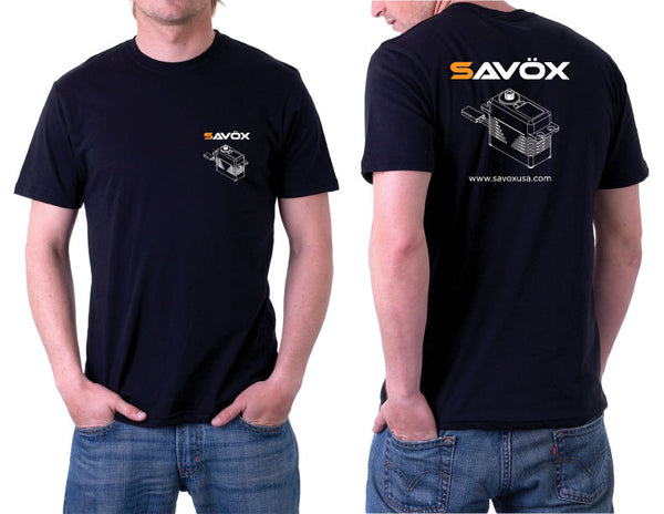 Savox Black T-Shirt, Large