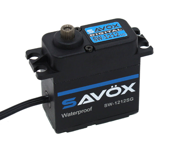 Waterproof, High Torque, High Voltage Coreless Digital Servo
