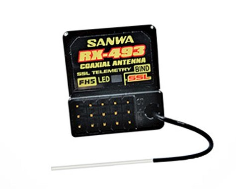 Coaxial Antenna for Sanwa 4- Channel RX-493 Receiver, M17