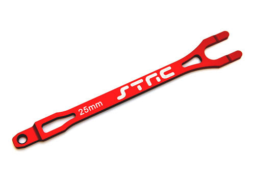 ALUMINUM PRO RACING BATTERY STRAP FOR TRAXXAS SLASH (RED)