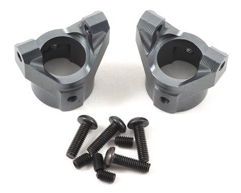 Pro Aluminum C Hubs for SCX10 (Grey)