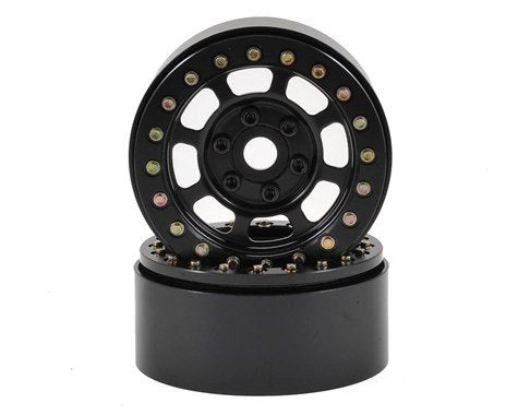 "1.9"" Steel Trail Beadlock Wheels (Black)"