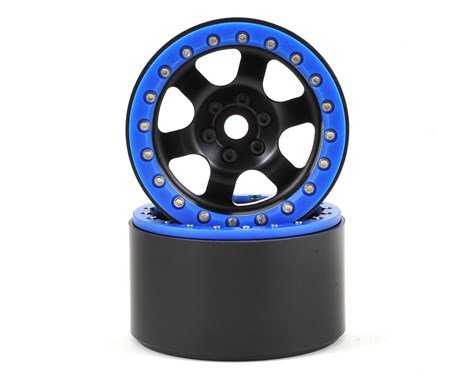 "2.2"" Rock Racer Beadlock Wheels  (Black)"