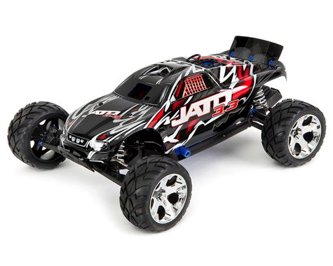 Jato® 3.3:  1/10 Scale 2-Speed Nitro-Powered 2WD Stadium Truck with TQi 2.4GHz Radio System, Traxxas Link™ Wireless Module, and Traxxas Stability Management (TSM)®