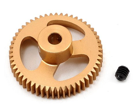 Featherweight Aluminum Pinion Gear, 64 Pitch, 53 Tooth