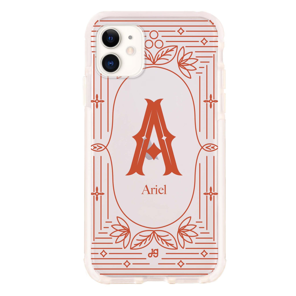 Artistic Monogram I iPhone 11 吸震防摔保護殼