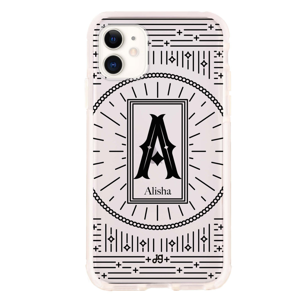 Artistic Monogram II iPhone 11 吸震防摔保護殼