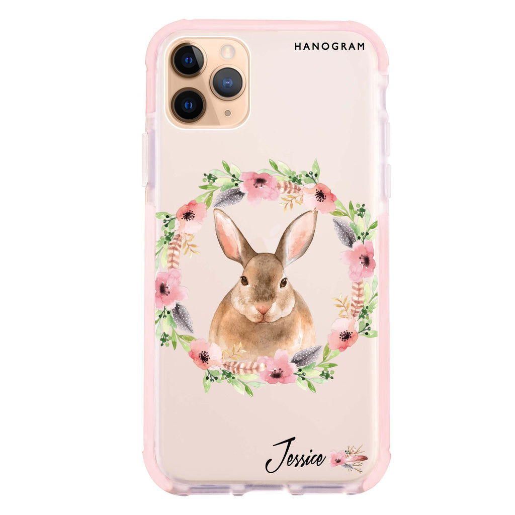 Floral Rabbit iPhone 11 Pro 吸震防摔保護殼