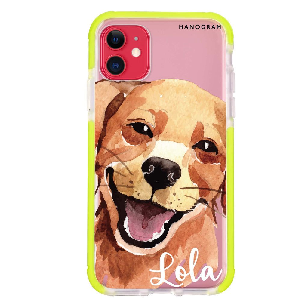 Golden Retriever iPhone 11 吸震防摔保護殼