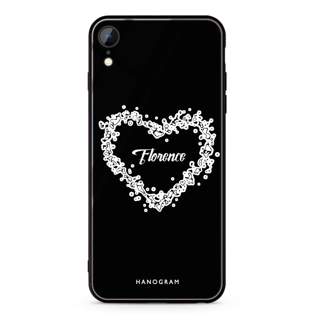 You Are In My Heart iPhone XR 超薄強化玻璃殻