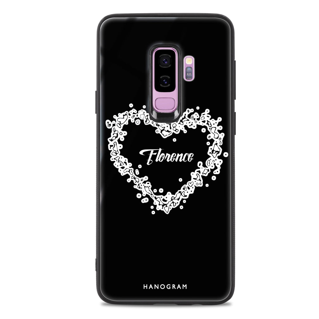 You Are In My Heart Samsung S9 Plus 超薄強化玻璃殻