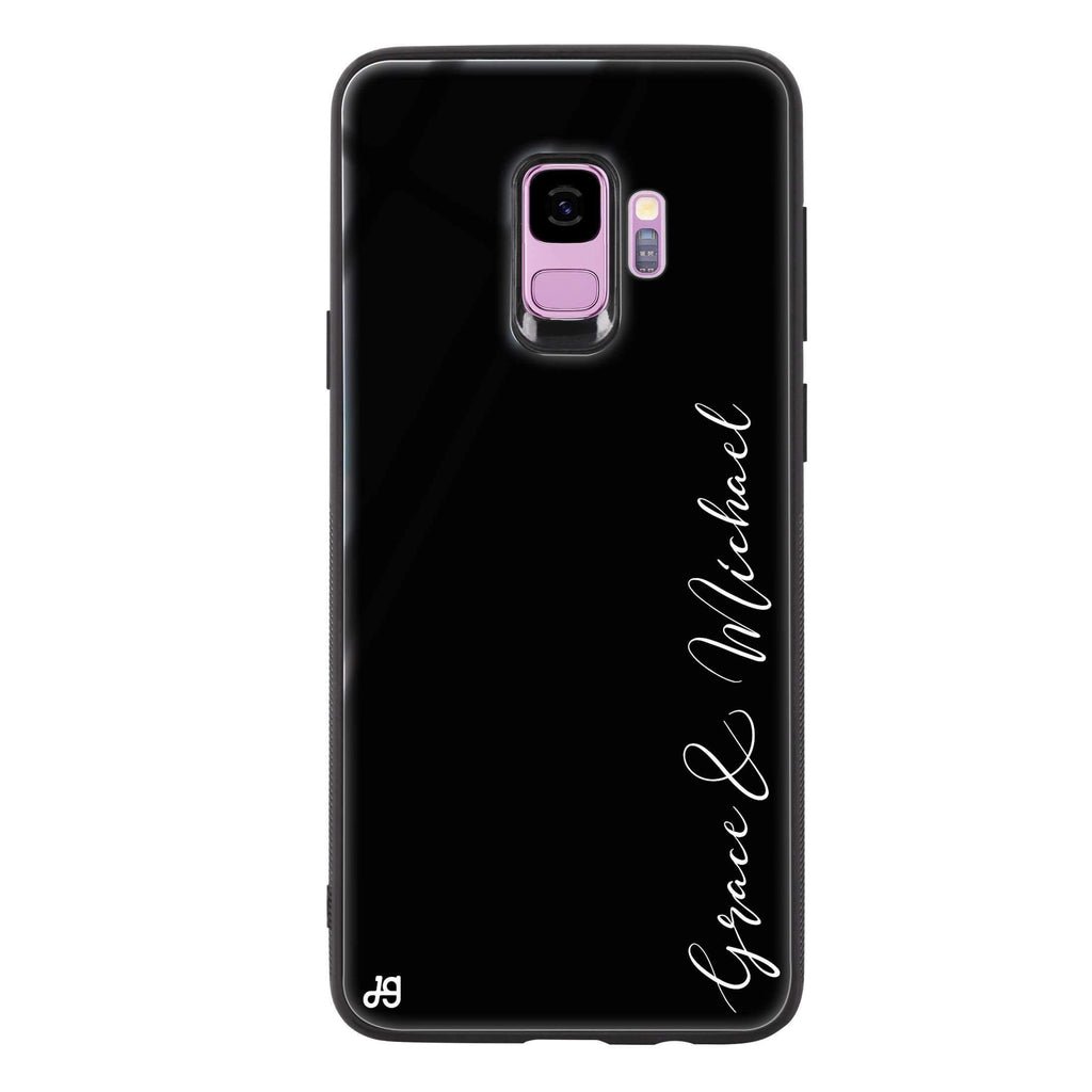 Handwritten You And Me Samsung S9 超薄強化玻璃殻