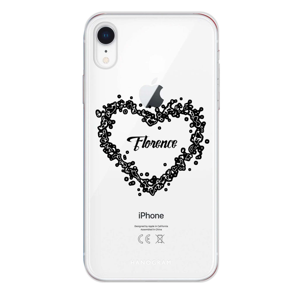 You Are In My Heart iPhone XR 透明軟保護殻
