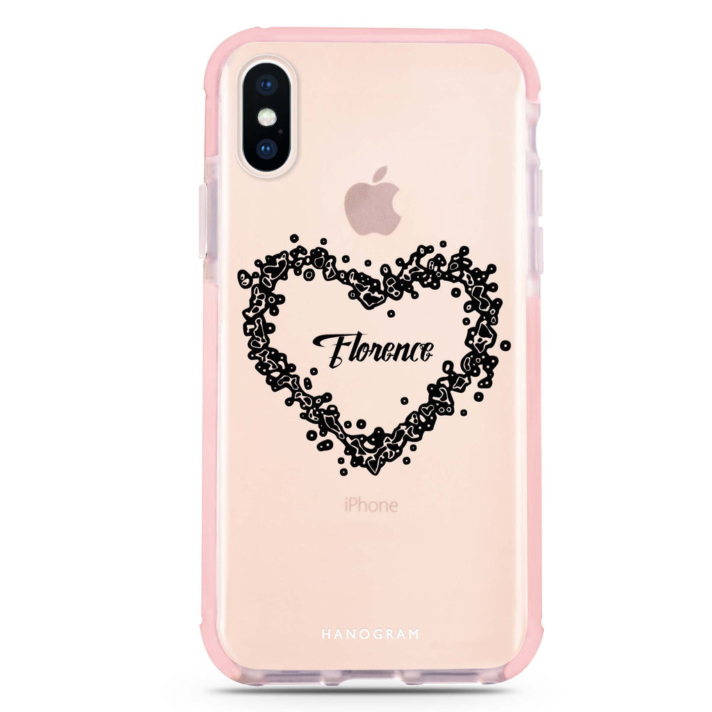 You Are In My Heart iPhone XS Max 吸震防摔保護殼