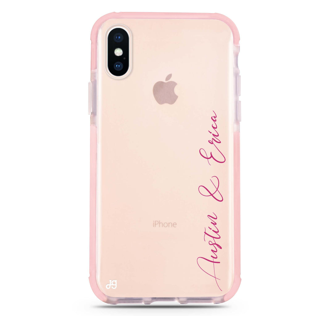 Handwritten You And Me iPhone XS Max 吸震防摔保護殼