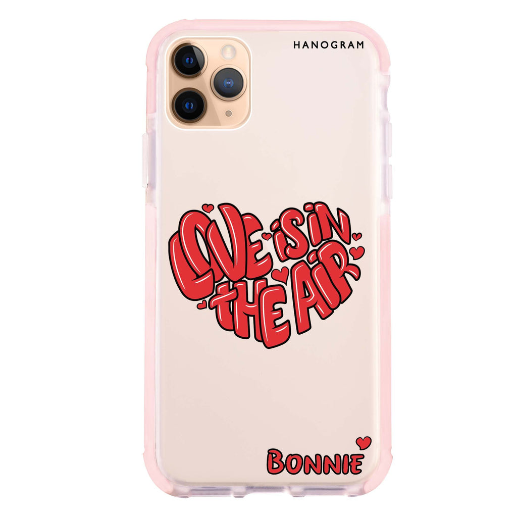 Red Word Heart iPhone 11 Pro Max 吸震防摔保護殼