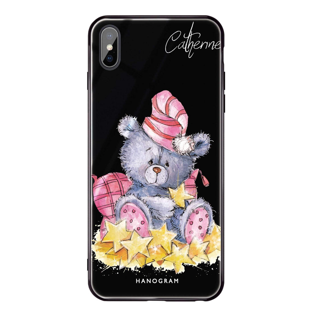 Star Bear iPhone XS 超薄強化玻璃殻