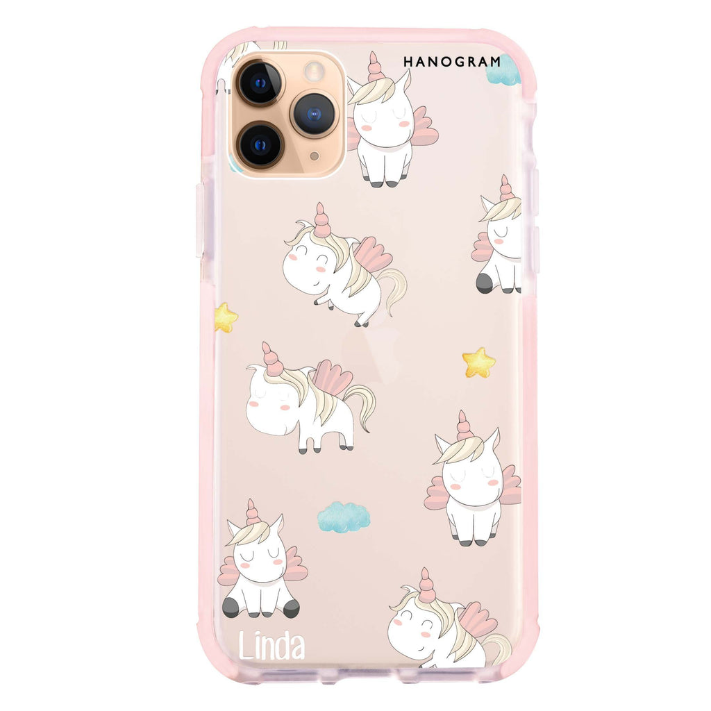 Baby Cute Unicorn iPhone 11 Pro 吸震防摔保護殼