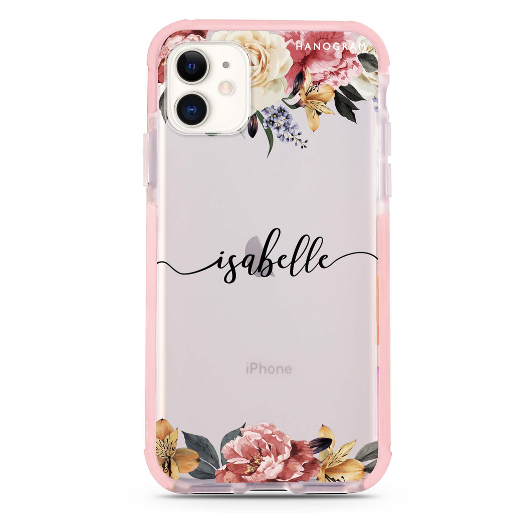 Art of Classic Floral iPhone 11 吸震防摔保護殼