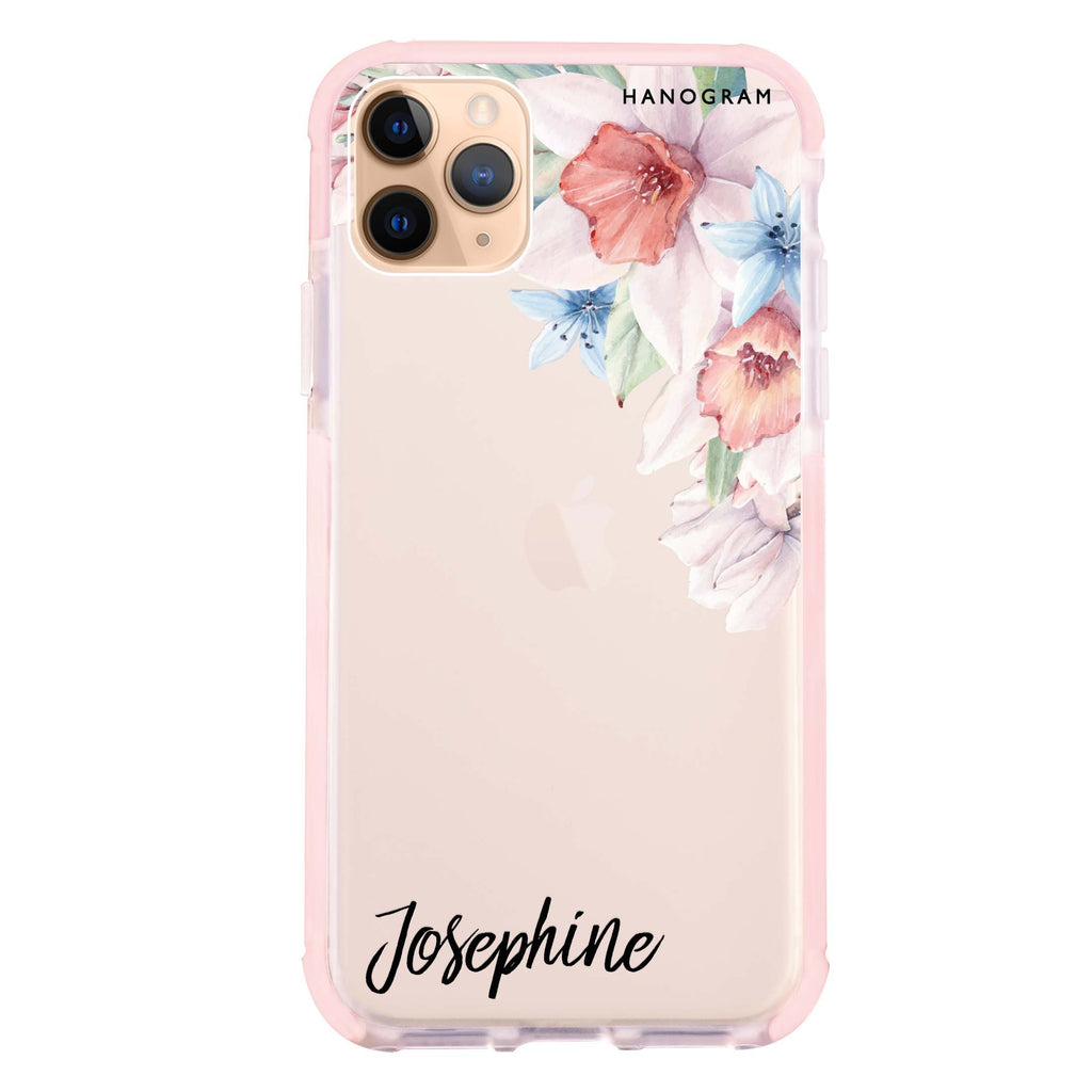 Glamour Floral iPhone 11 Pro Max 吸震防摔保護殼