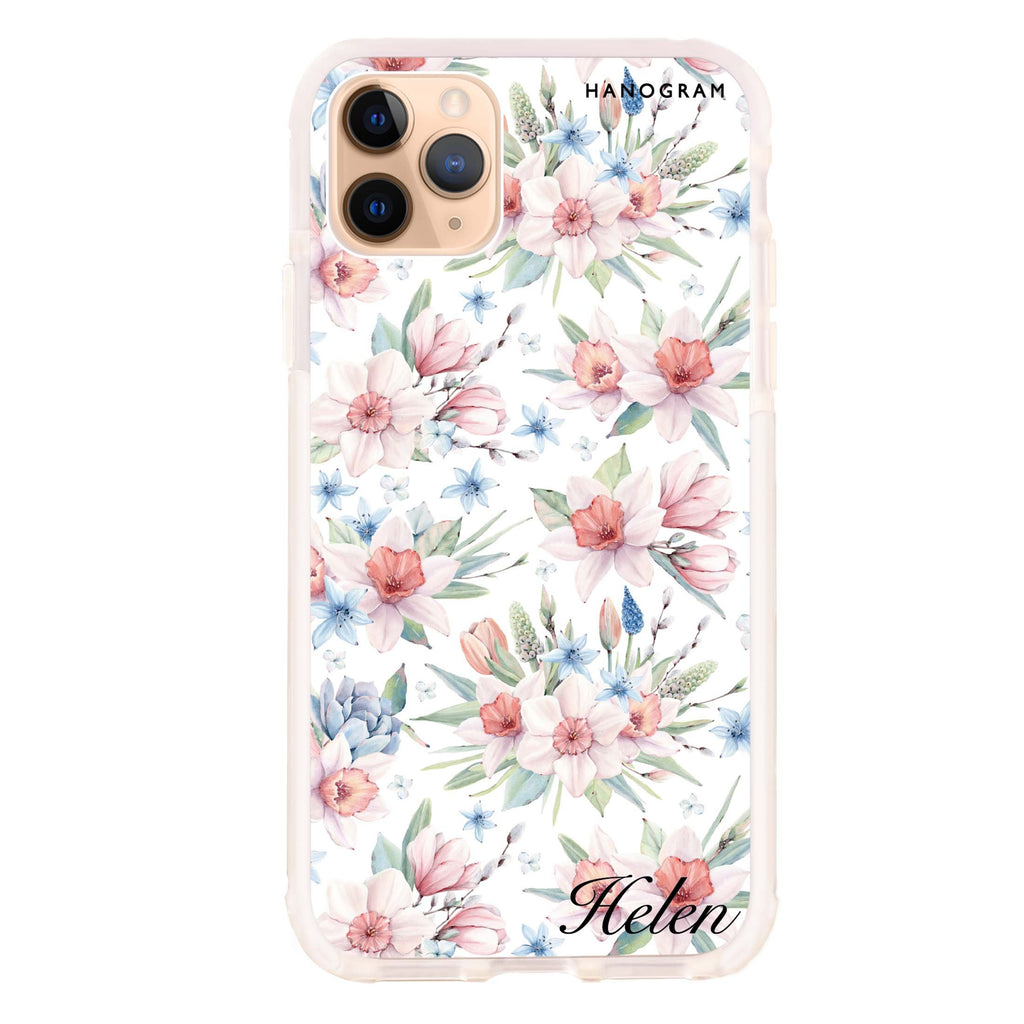 Glamour Floral World iPhone 11 Pro Max 吸震防摔保護殼