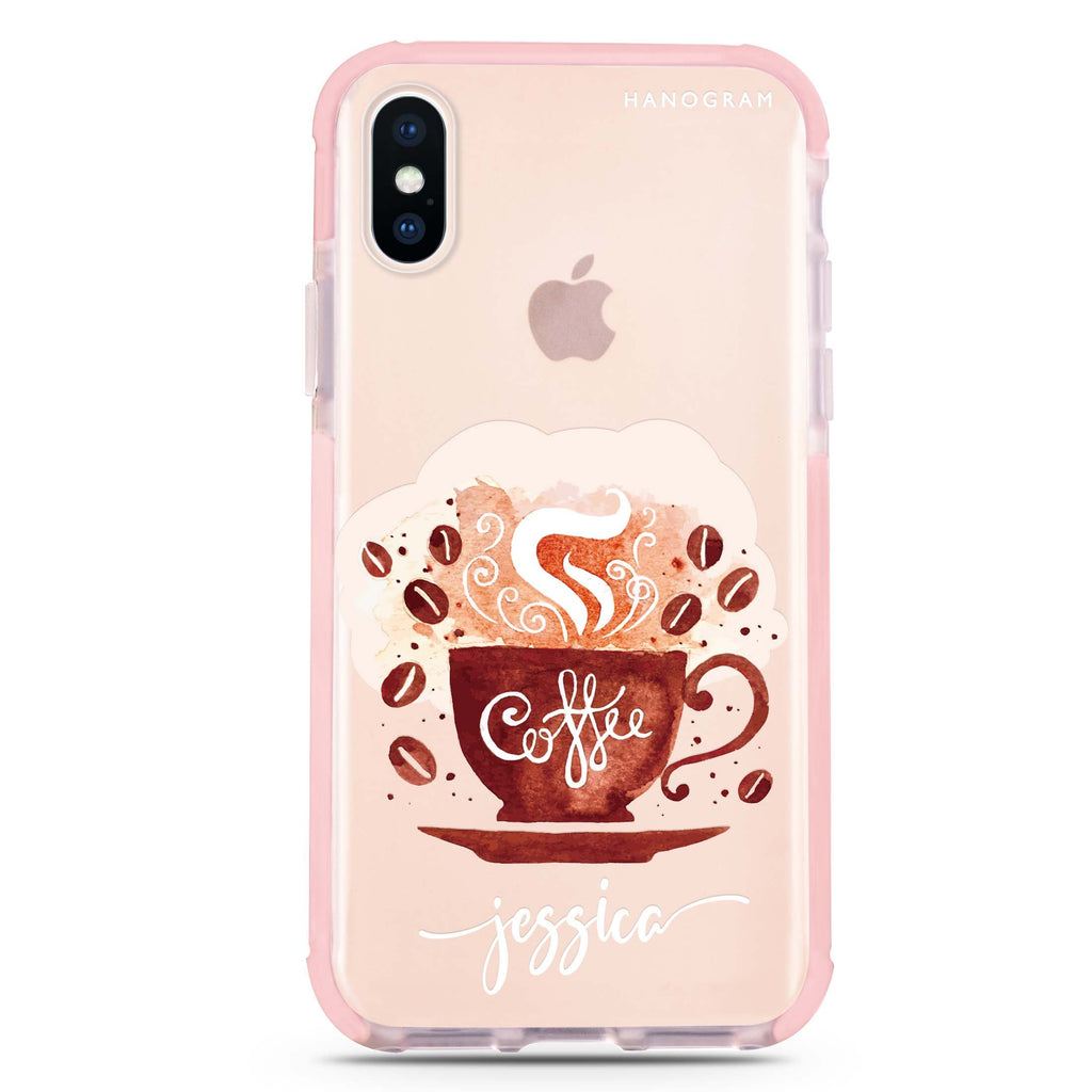 Fragrant coffee iPhone XS Max 吸震防摔保護殼