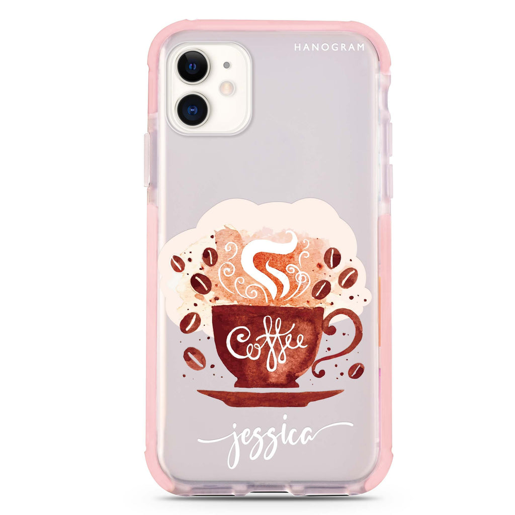 Fragrant coffee iPhone 11 吸震防摔保護殼