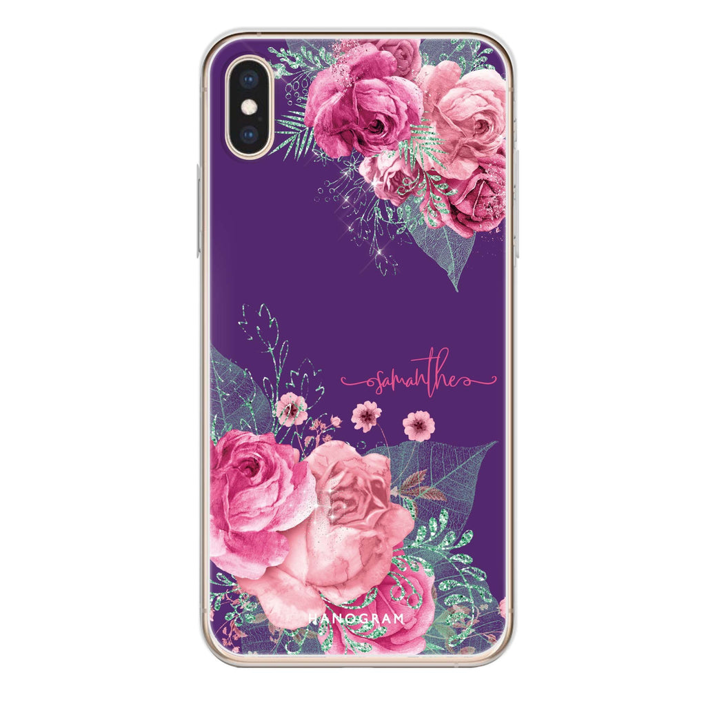 WildRose iPhone XS 透明軟保護殻